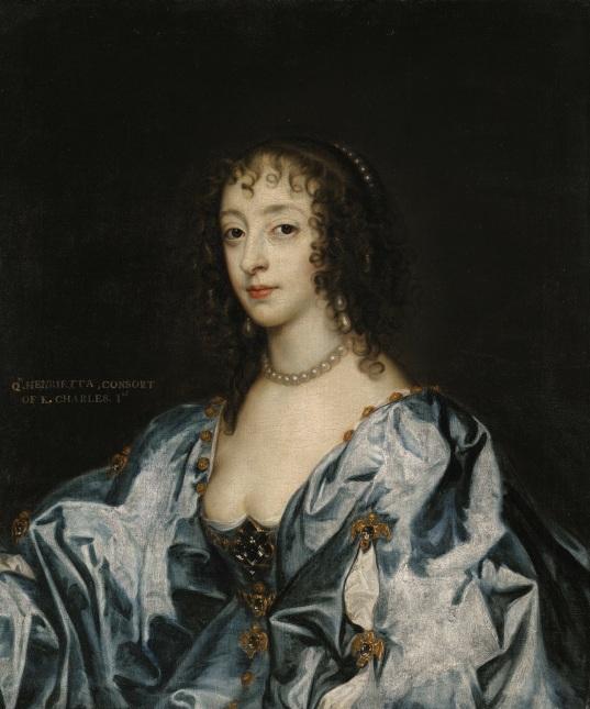 Lot-122-Portrait-of-Queen-Henrietta-Maria